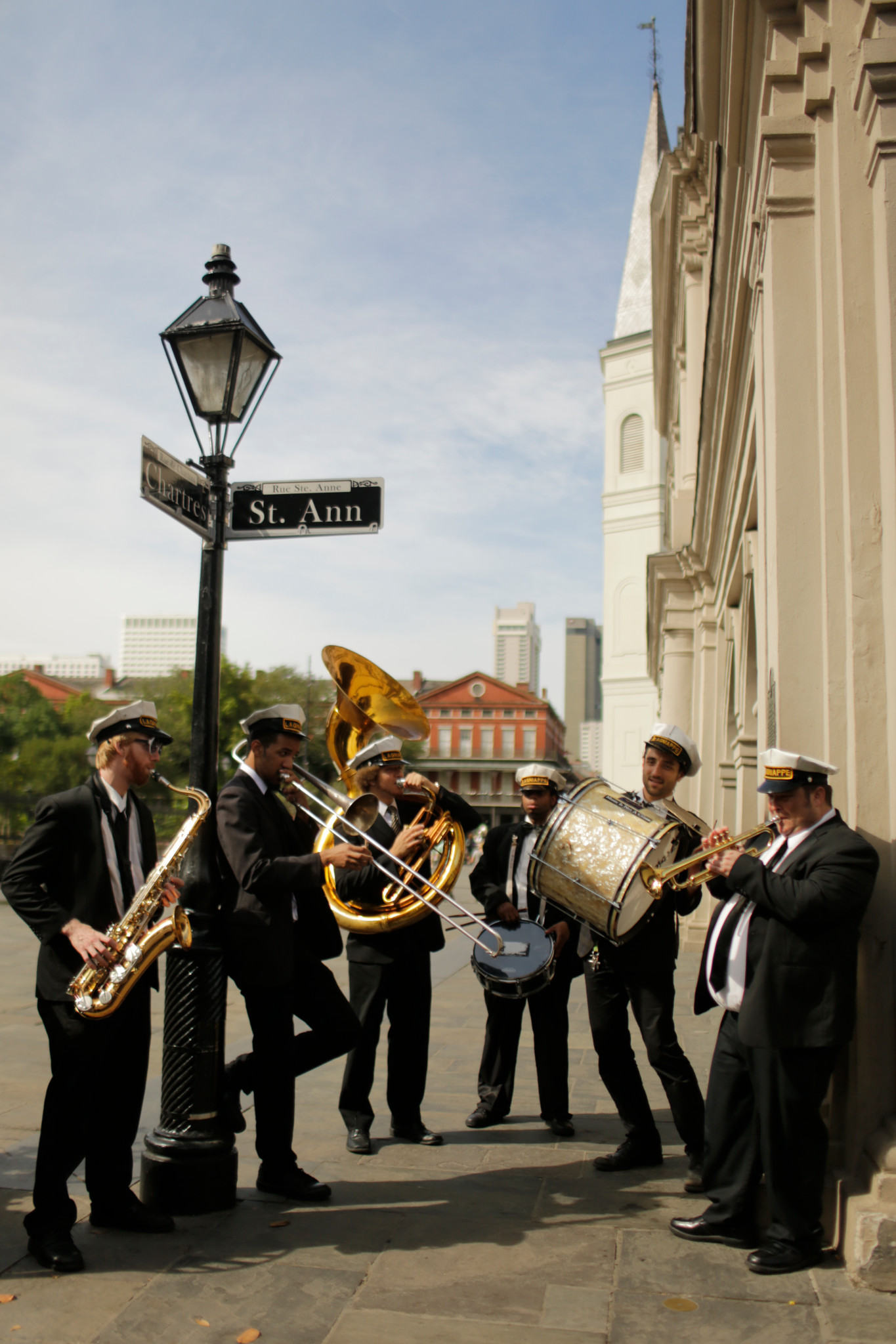 New Orleans Band playing music - 2019 AAOA Annual Meeting