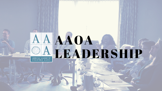 A Message From AAOA President, Alpen Patel, MD